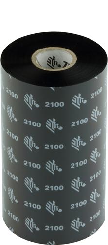 Zebra 2100 Wax ribbon 131mm x 450m
