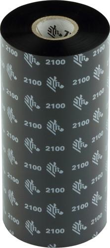 Zebra 2100 Wax ribbon 156mm x 450m
