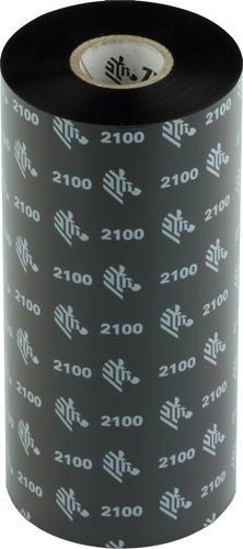 Zebra 2100 Wax ribbon 174mm x 450m