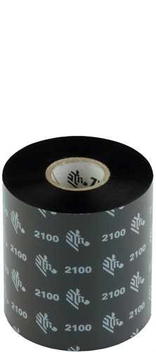 Zebra 2100 Wax ribbon 80mm x 450m
