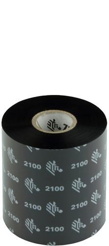 Zebra 2100 Wax ribbon 80mm x 450m