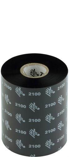 Zebra 2100 Wax ribbon 89mm x 450m