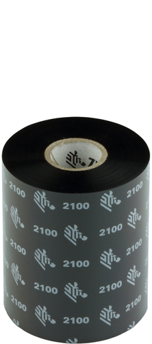 Zebra 2100 Wax ribbon 89mm x 450m