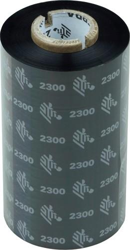 Zebra 2300 Wax ribbon 110mm x 300m for GT800 printers