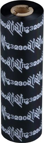 Zebra 2300 Wax ribbon 110mm x 74m