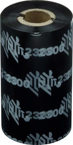 Zebra 2300 Wax ribbon 57mm x 74m