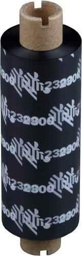 Zebra 2300 Wax ribbon 84mm x 74m