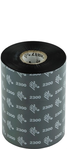 Zebra 2300 Wax ribbon 102mm x 450m