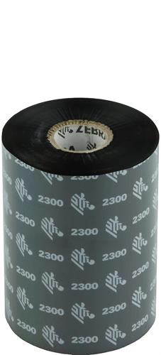 Zebra 2300 Wax ribbon 102mm x 450m