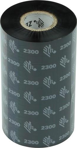 Zebra 2300 Wax ribbon 110mm x 300m