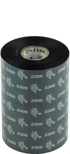 Zebra 2300 Wax ribbon 110mm x 450m
