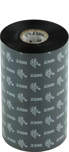 Zebra 2300 Wax ribbon 131mm x 450m