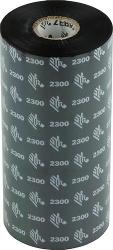Zebra 2300 Wax ribbon 170mm x 450m