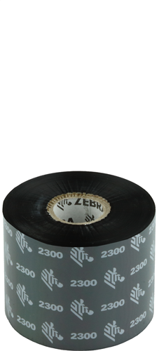 Zebra 2300 Wax ribbon 60mm x 450m