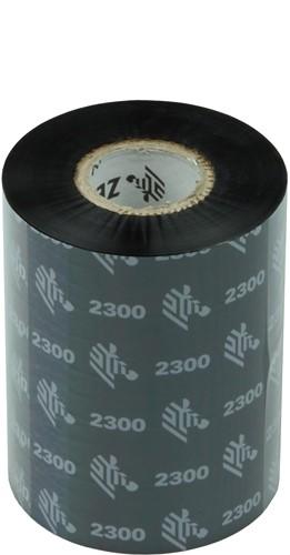 Zebra 2300 Wax ribbon 83mm x 300m