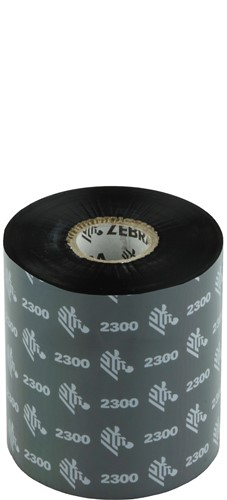 Zebra 2300 Wax ribbon 83mm x 450m