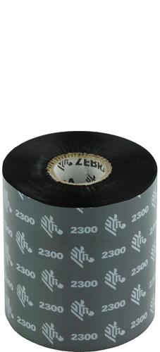 Zebra 2300 Wax ribbon 83mm x 450m