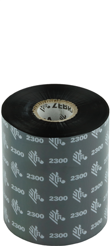 Zebra 2300 Wax ribbon 89mm x 450m