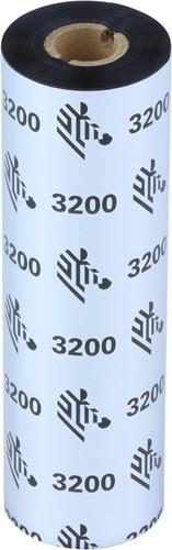 Zebra 3200 Wax/Resin ribbon 110mm x 74m