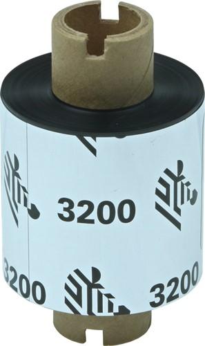 Zebra 3200 Wax/Resin ribbon 33mm x 74m