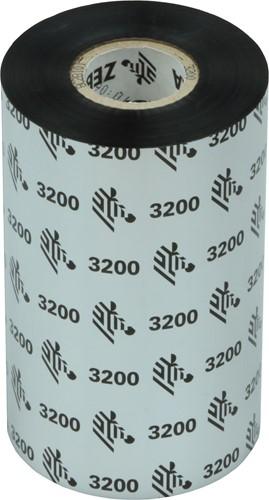 Zebra 3200 Wax/Resin ribbon 110mm x 300m