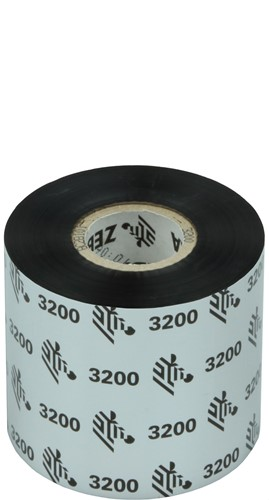 Zebra 3200 Wax/Resin ribbon 60mm x 300m
