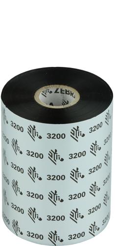 Zebra 3200 Wax/Resin ribbon 102mm x 450m