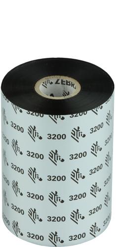Zebra 3200 Wax/Resin ribbon 110mm x 450m