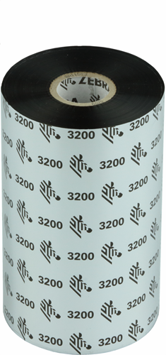 Zebra 3200 Wax/Resin ribbon 131mm x 450m