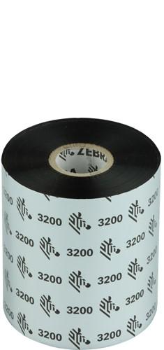 Zebra 3200 Wax/Resin ribbon 89mm x 450m