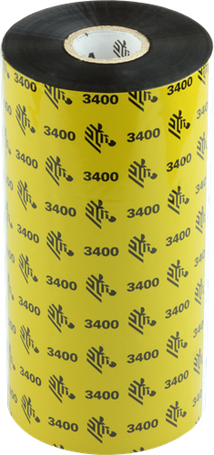 Zebra 3400 Wax/Resin ribbon 156mm x 450m