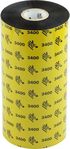 Zebra 3400 Wax/Resin ribbon 174mm x 450m