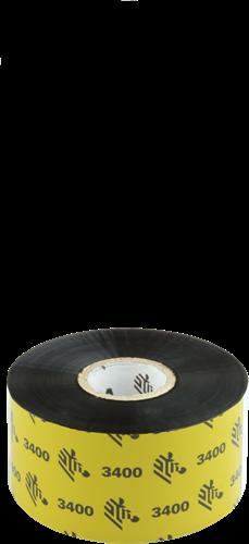 Zebra 3400 Wax/Resin ribbon 40mm x 450m
