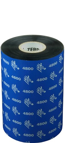 Zebra 4800 Resin ribbon 110mm x 450m