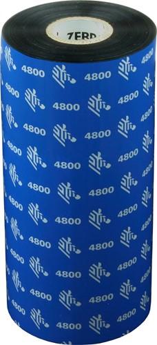 Zebra 4800 Resin ribbon 156mm x 450m