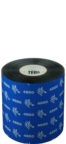 Zebra 4800 Resin ribbon 80mm x 450m