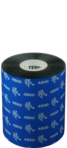 Zebra 4800 Resin ribbon 89mm x 450m