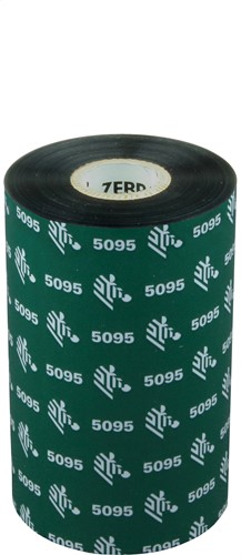 Zebra 5095 Resin ribbon 110mm x 450m