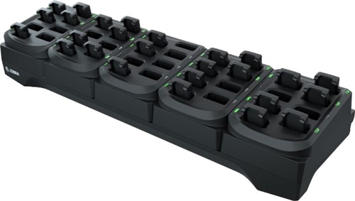 40-Slot battery charge cradle for Zebra RS5100