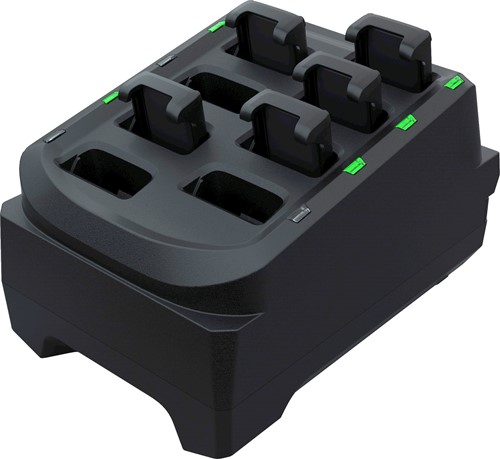 8-Slot battery charge cradle for Zebra RS5100