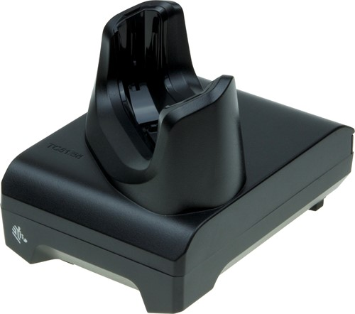 Charge and communication cradle for Zebra TC5x