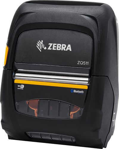 Zebra ZQ511 printer 203dpi without battery (USB-BT-WLAN)