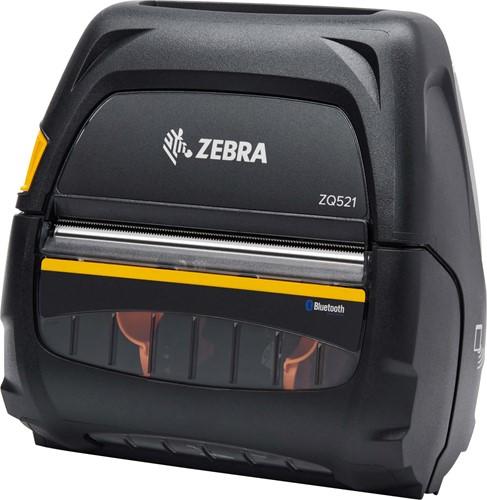 Zebra ZQ521 printer 203dpi 3400mAh battery (USB-BT)