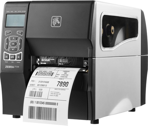 Zebra ZT230 TT 300dpi Dispenser (USB-SER-WLAN)