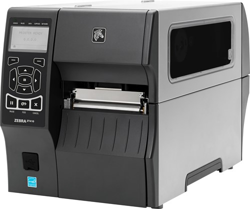 Zebra ZT410 300dpi Rewind-Dispenser (USB-SER-ETH-BT)