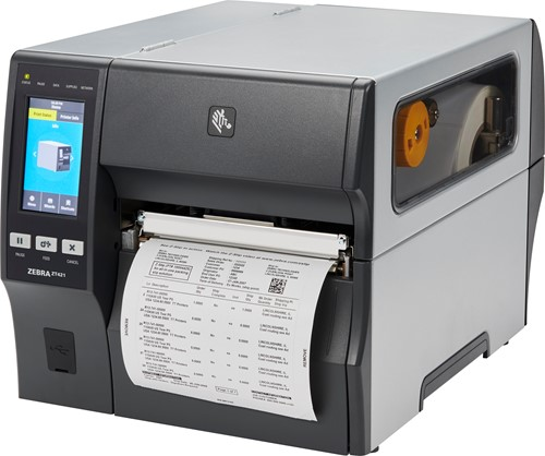 Zebra ZT421 203dpi printer with cutter (USB-SER-ETH-BT)