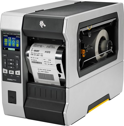 Zebra ZT610 600dpi Rewind-Dispenser (USB-SER-ETH-BT)