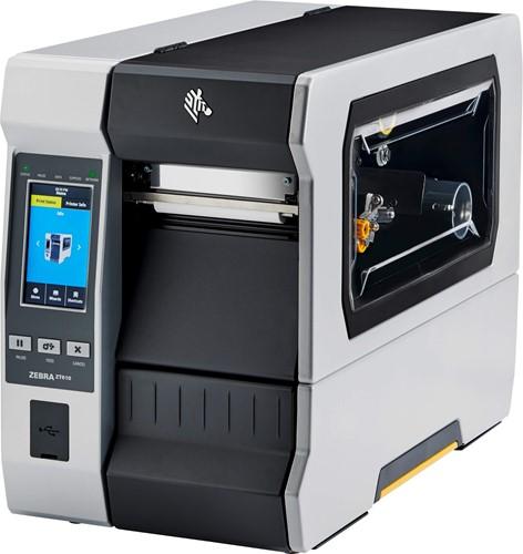 Zebra ZT610 Touch 300dpi Rewind-Dispenser (USB-SER-ETH-BT)