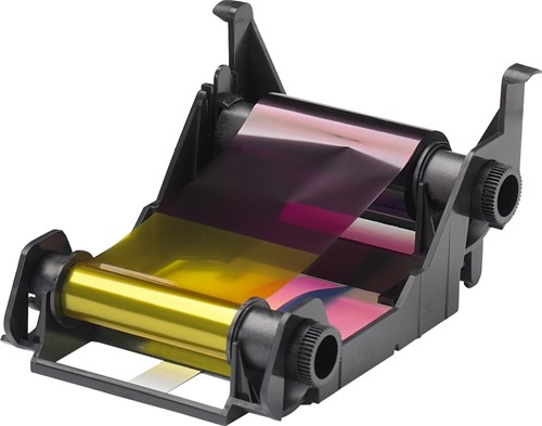 YMCKO Printer ribbon for Zebra ZXP1 (100 prnt.)